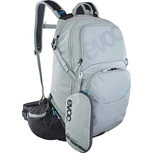 Evoc Sac à Dos Explorer Pro 30l Argent/Gris VTT sans Protection Adulte Unisexe, 30