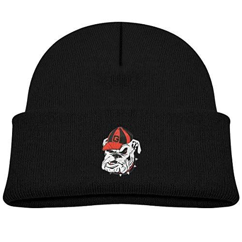 georgia bulldog knit hat - 6