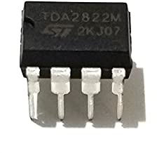 STMicroelectronics TDA2822M IC TDA2822 Dual Low-Voltage Power Amplifier IC (Pack of 1)