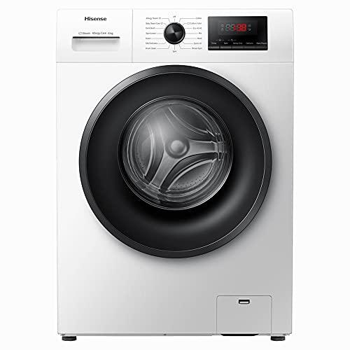 Hisense Freestanding Front Loading 1400RPM Washing Machine - 2 Year Guarantee (6KG, White)