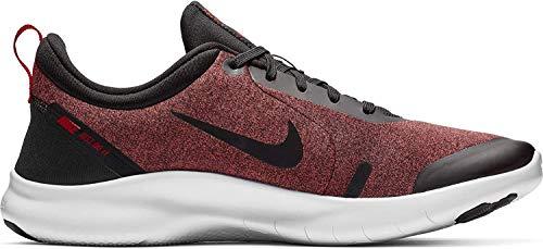 Nike Herren Flex Experience RN 8 Laufschuhe, Mehrfarbig (Black/Black-University Red-White 001), 44.5 EU