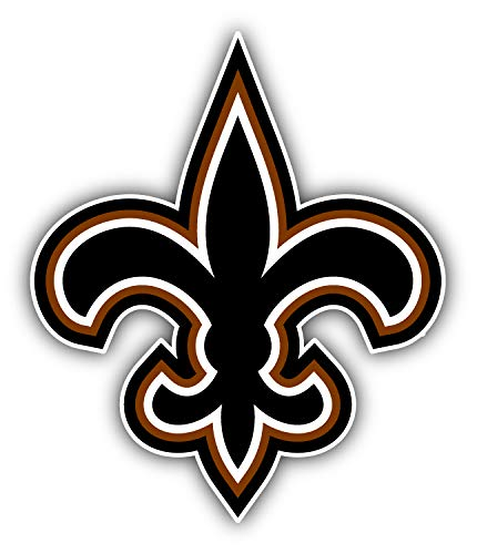 New Orleans City Sainttz Football Die-Cut Sticker - Symbol Logo Decal 4'' X 5''