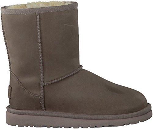 UGG UGG¨ Australia - Classic Short Leather Kid«s - Kinder Stiefel Gr. 30-34, Farbe:feather;Gr?§e:US k01 / EUR 31