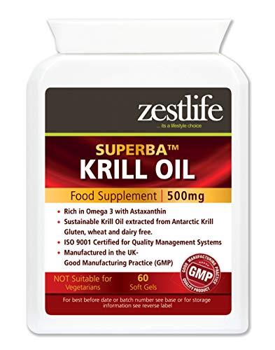 Zestlife Superba Krill Oil | Sustainably Pescato...