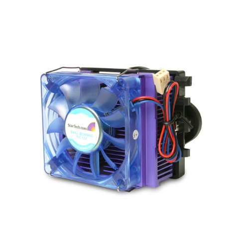 StarTech.com Universal Intel P4 AMD Athlon CPU Cooler Fan with Heatsink UNIVERSALHSF (Blue)