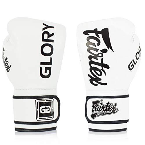 Fairtex X Glory - Guantoni da boxe per kickboxing, Sparring Muay Thai, realizzati a mano in...
