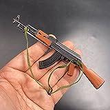 ZHWH Accesorios de Figuras de acción a Escala 1/6, Rifle Tipo 56 AK-47 Modelo de plástico en Miniatura para PHICEN, Tbleague, HT Toys No Lanzable,A