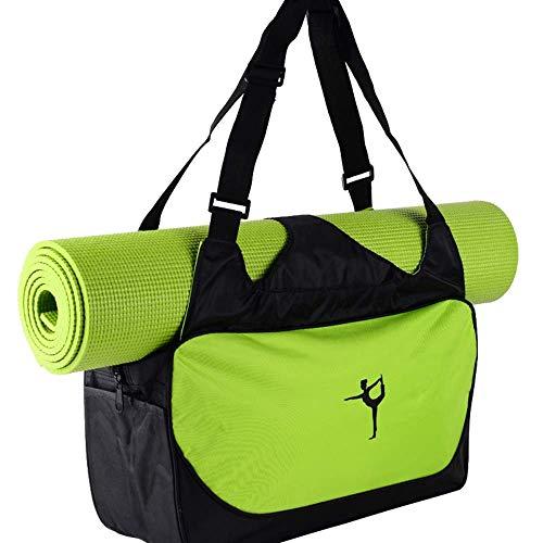 Generic Brands Sac de Tapis de Yoga vêtements multifonctionnels Sac à Dos de Yoga épaules étanches Yoga Pilates Tapis étui Sac Transporteur Tapis de Fitness Sac de Sport