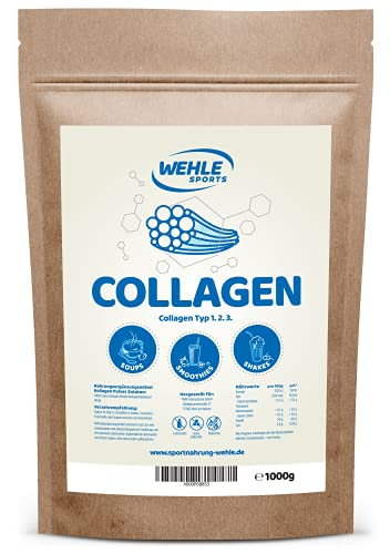 Wehle Sports -  Collagen Pulver 1kg