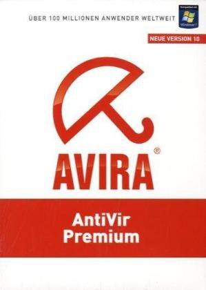 Avira AntiVir Premium Neue Version 10, CD-ROM Für Windows XP(32 oder 64 Bit)SP2/Vista(32 oder 64 Bit)SP1/7