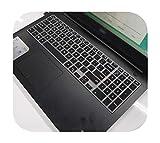 Schutzhülle für Laptop aus Silikon für DELL Latitude 15 3500 3550 3560 3570 3580 3590 15,6 Zoll, Schwarz