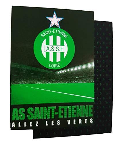 AS Saint Etienne Housse de Couette ASSE - Collection Officielle Taille 140x200 cm.