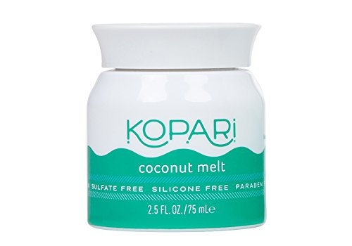 Kopari Coconut Mini Melt - All-over Skin Moisturizing, Under Eye Rescuing, Hair Conditioning + More With 100% Organic Coconut Oil, Non GMO, Vegan, Cruelty Free, Paraben Free and Sulfate Free 2.5 Oz