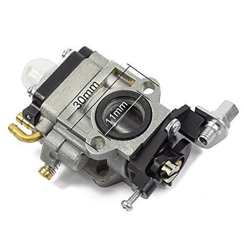 Fjiujin 1pc T242 carburador del Motor de Gasolina en Forma for TU26 32F 34F 36F desbrozadora carburador Walbro Carb Condensador de Ajuste del carburador
