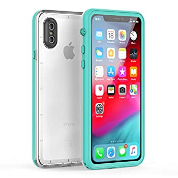 Fansteck iPhone X Waterproof Case/iPhone Xs Waterproof Case - Ultra Slim Full Sealed IP68 Waterproof Case for iPhone X/Xs - High Sensitive Touch with Built - in Screen Protector  5.8 inch