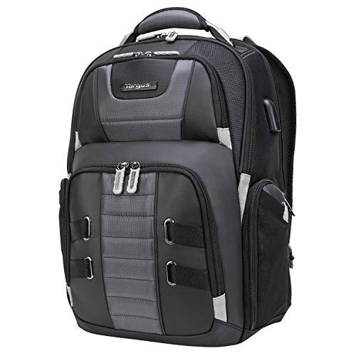 Targus TSB957GL DrifterTrek 15,6-17,3 Zoll Notebook-Rucksack mit Durchführung für USB-Stromversorgung - Schwarz