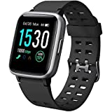 YAMAY Smartwatch Orologio Fitness Uomo Donna Impermeabile IP68 Smart Watch Cardiofrequenzimetro da Polso...