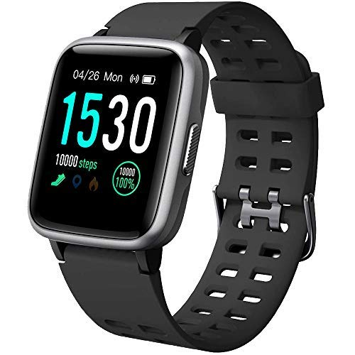 smartwatch ios waterproof YAMAY Smartwatch Orologio Fitness Uomo Donna Impermeabile IP68 Smart Watch Cardiofrequenzimetro da Polso Contapassi Smartband Activity Tracker Bambini Cronometro per Android iOS