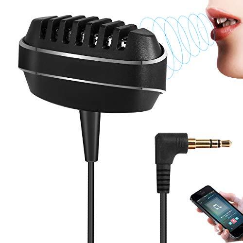 Revers-microfoon, condensator mobiele telefoon 3,5 mm microfoon, voor iPhone Android opname, YouTube, podcast, dictaat, videoconferentie, Studio