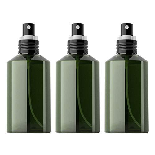 Minkissy 3 Piezas Botella de Spray de Niebla Fina Pulverizador de Jabón Líquido a Prueba de Fugas Dispensador de Pulverizador de Aceite Cosmético Botella de Atomizador de Subenvasado (200 Ml)