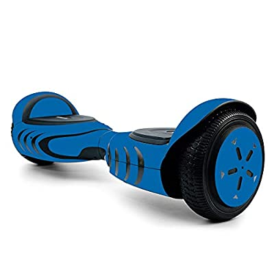 MightySkins Skin for Tomoloo Hoverboard Self Balancing Scooter - Solid Blue | Protective, Durable, and Unique Vinyl Decal wrap Cover | Easy to Apply, Remove, and Change Styles | Made in The USA
