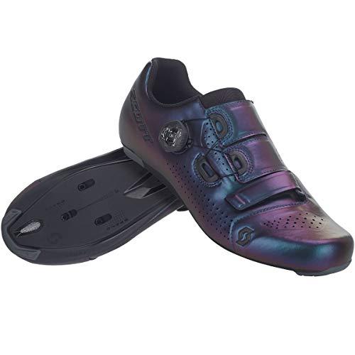 SCOTT Zapatilla Carretera Team Boa Ciclismo, Hombre, Prism Purple/Black, 43