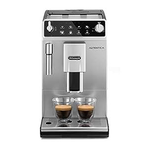 De'Longhi Autentica ETAM29.510.SB Macchina da Caffè Automatica per Espresso e Cappuccino, Caffè in Grani o in Polvere…