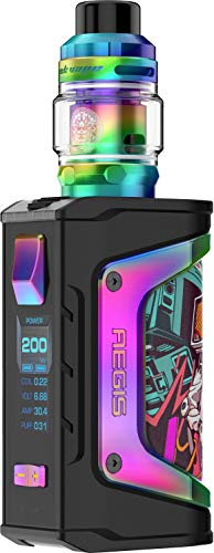 GEEKVAPE Aegis Legend E-zigarette, max. 200 Watt - Z Verdampfer, Regenbogen, 5ml