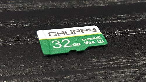 Chuppy Tech - Tarjeta de memoria micro SD de 32 GB (clase 10, V30, velocidad de hasta 80 MB/s, apta para grabación de 8 K (32 GB)
