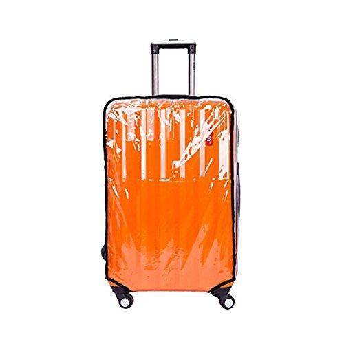 Bestoyard Capa protetora transparente para mala de viagem, à prova de poeira, 55,88 cm