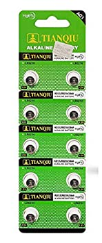 Tianqiu AG1 364A LR60 SR60 LR621 Button Cell Batteries  10-Pack