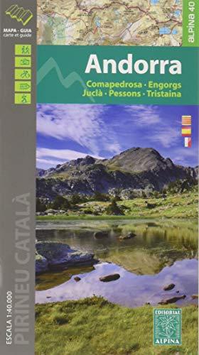 Andorra: Comapedrosa - Engorgs - Juclà - Pessons - Tristaina 1:40.000 (ALPINA 40 - 1/40.000)