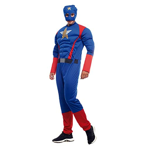 Disfraz Superhéroe Star Hombre (Talla M) (+ Tallas) Carnaval ...
