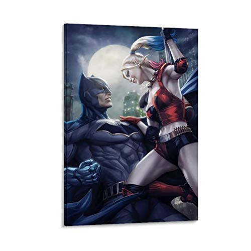 41FJy4IbgCL Harley Quinn and Batman Posters