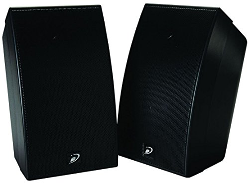 Buy Cheap Dayton Audio SAT-BK 3-3/4 2-Way Satellite Speaker Pair Black