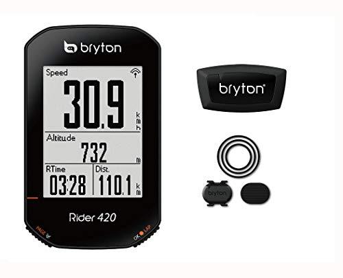 BRYTON(ブライトン) RIDER 420T (ライダー420T) GPSサイクルコンピューター(ケイデンス/心拍センサー付)