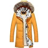 Chaqueta de plumón de Pato Blanca Mujer Pluma de Ganso de Invierno Otoño Dama Abrigo LargoParka CálidoTallas Grandes Ropa de Abrigo 5XL