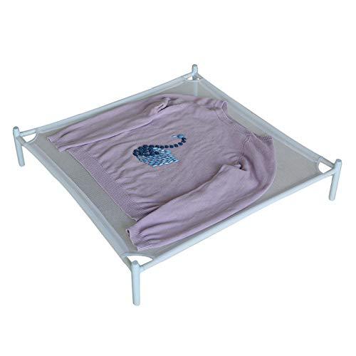 Tendedero de malla para secar suéteres, tendedero apilable para ropa delicada, portátil