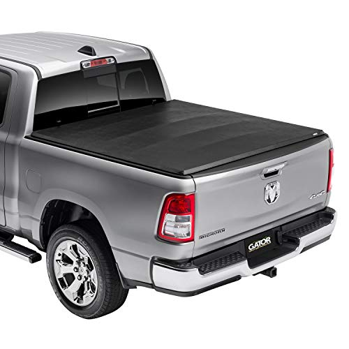 "Gator ETX Soft Tri-Fold Truck Bed Tonneau Cover | 59201 | Fits 2009-2018, 2019/2020 Classic Dodge Ram 1500-3500 5'7"" Bed 