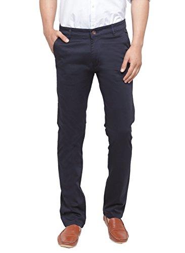 Ben Martin Men's Regular Fit Trouser (Navy Blue, 34)
