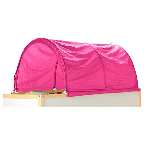 IKEA KURA bed tent pink