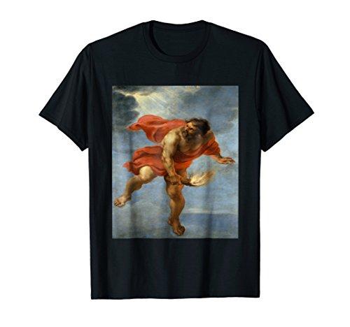 Prometheus T-Shirt Greek Mythology Ancient Greece Titan Fire