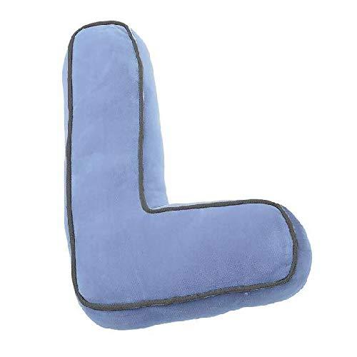 DCASA Forma Letra L Referencia DC Cojines Textiles del hogar Unisex Adulto, color, 40x10x0