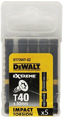 Dewalt DT7399T-QZ Bits T40 50mm EXTREME Impact Torsion (5ST)