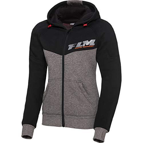 FLM motorjas met beschermers motor jas sportvrouwen hoodie met beschermers 1.0, dames, sportler, het hele jaar door, textiel