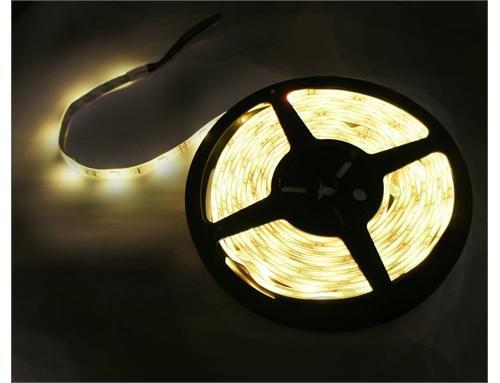 LED-Lichtschlauch, 5m, 300LEDs, SMD, Warmweiß, 12V, wasserdicht, dimmbar