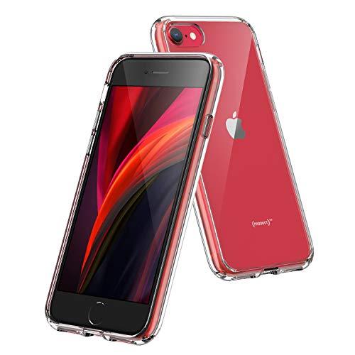 Syncwire Cover iPhone SE 2020, Cover iPhone 7, Cover iPhone 8 - Custodia per Apple iPhone SE 2020/7/8 in Silicone TPU - Trasparente