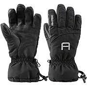 AKASO Ski Handschuhe Schwarz-S