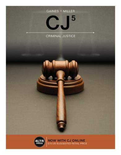 CJ (with MindTap, 1 term (6 months) Printed Access Card) (New, Engaging Titles from 4LTR Press)