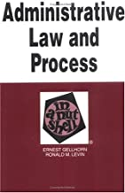 Administrative Law and Process in a Nutshell (Nutshell Series)